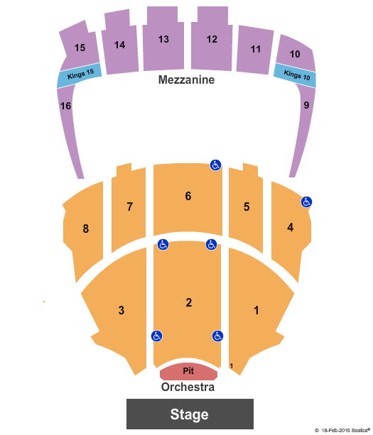 Kings Theatre - NY seating chart event tickets center