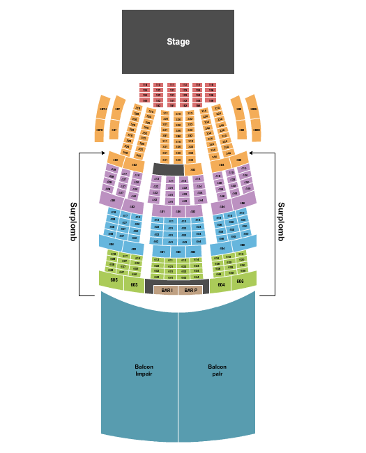 Le Theatre Capitole Seating Chart