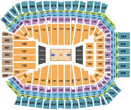 Lucas Oil Stadium seating chart event tickets center