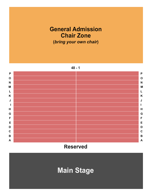 MIDFLORIDA Credit Union Event Center Seating Chart
