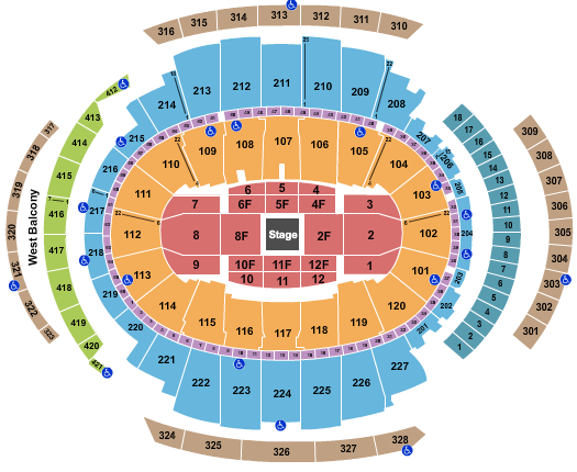 Madison Square Garden Joe Rogan seating chart - eventticketscenter.com
