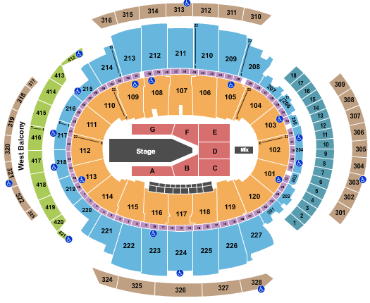 Madison Square Garden The Weeknd seating chart - eventticketscenter.com