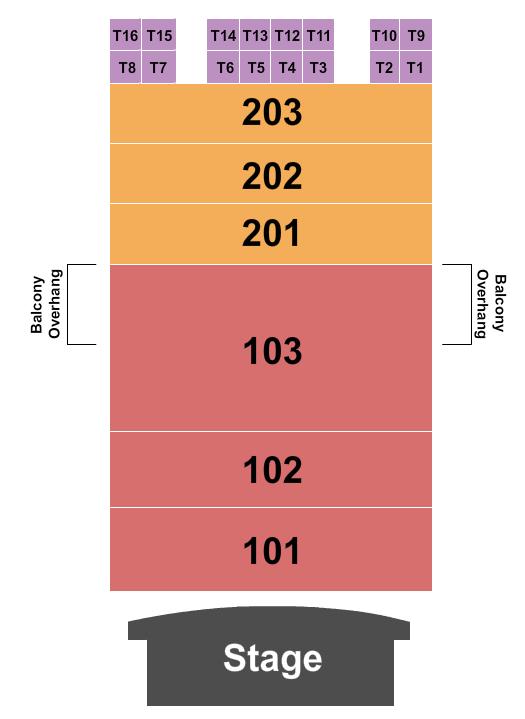 Madison Theater - Covington Floor Plan