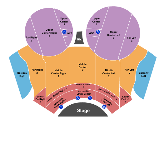 Mainstage at Chandler Center For The Arts - AZ seating chart event tickets center