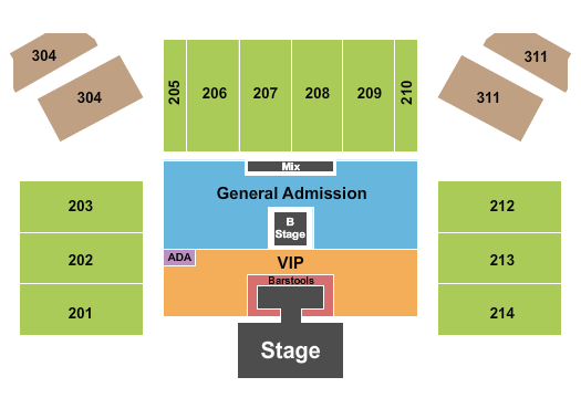 Hard Rock Live At Etess Arena seating chart event tickets center