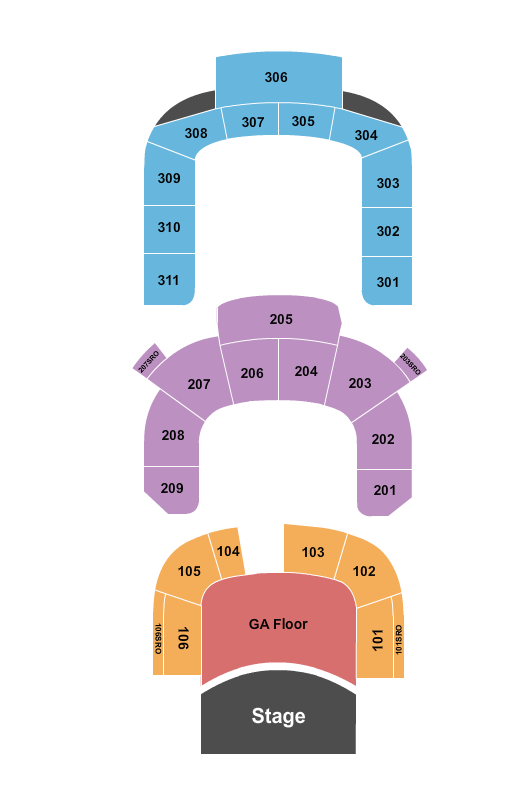 Massey Hall seating chart event tickets center
