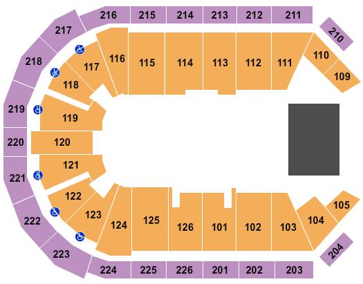 Maverik Center Floor Plan