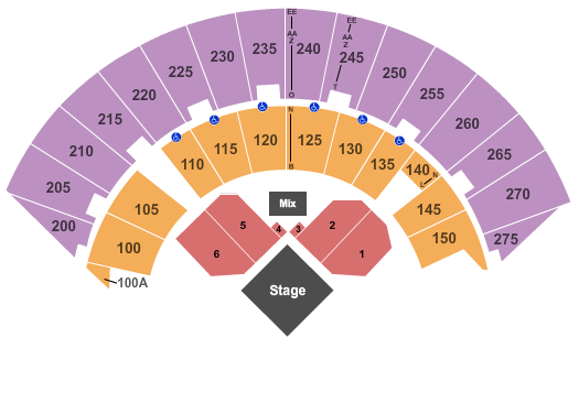 Mayo Civic Center Arena seating chart event tickets center