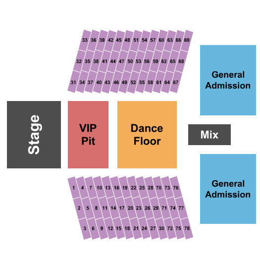 Mcallen Convention Center Seating Chart