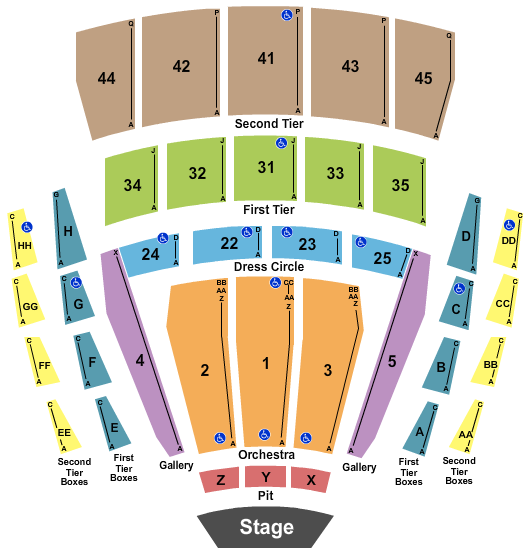 Mccaw Hall Seating Chart
