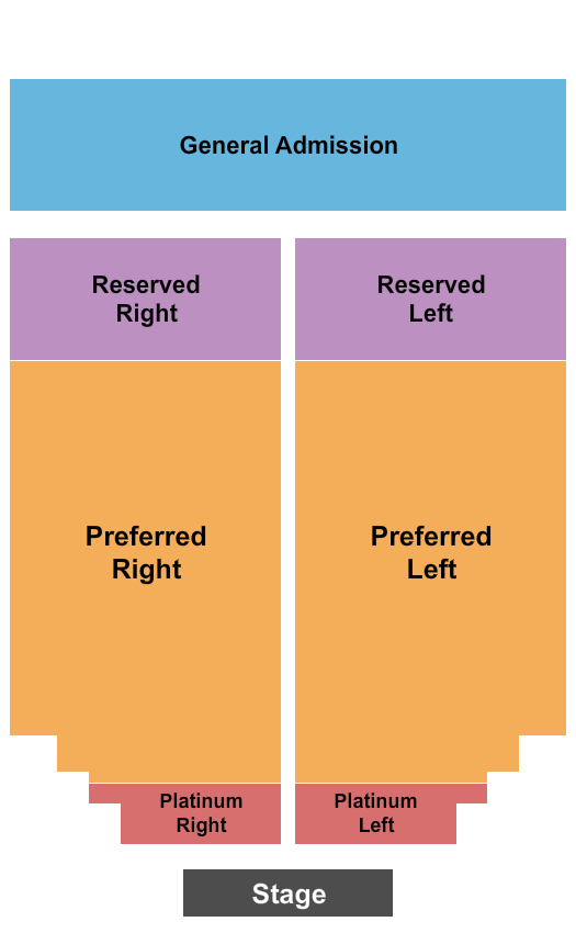 Meadow Event Park seating chart event tickets center
