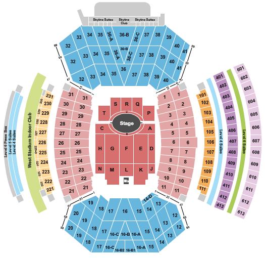 Memorial Stadium - NE Floor Plan
