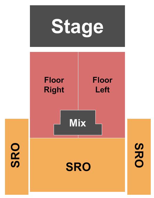 Mercury Ballroom Seating Chart