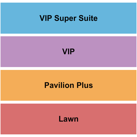 Merriweather Post Pavilion Seating Map