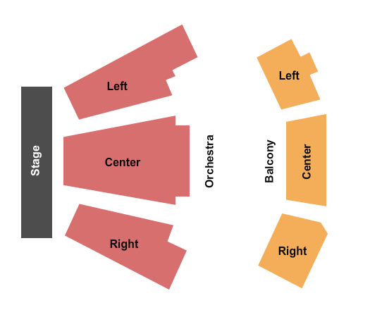 Miller Center For The Arts Seating Chart