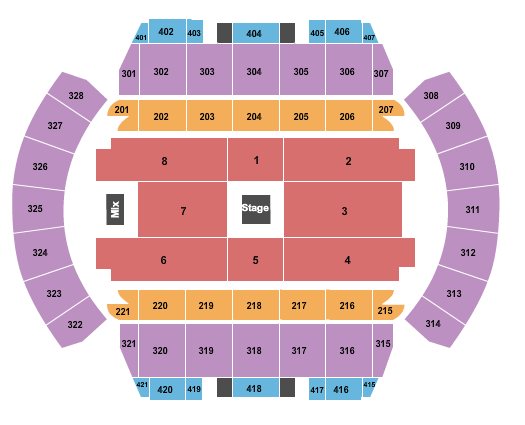 Mississippi Coliseum seating chart event tickets center