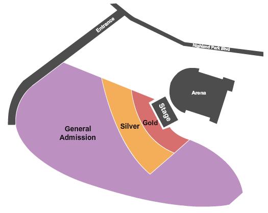 Mohegan Sun Arena at Casey Plaza Floor Plan