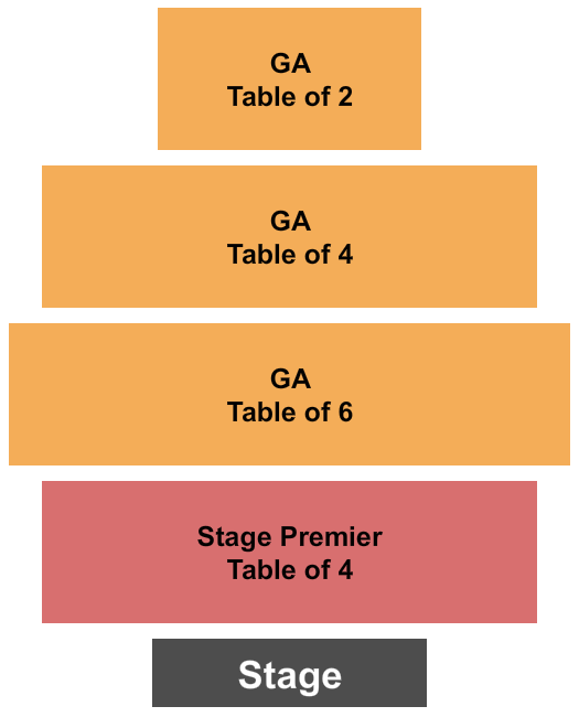 Music City Wine Garden at City Winery Seating Chart