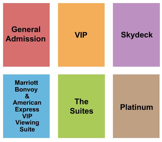 Napa Valley Expo Seating Map