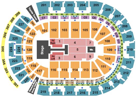 Nationwide Arena Floor Plan