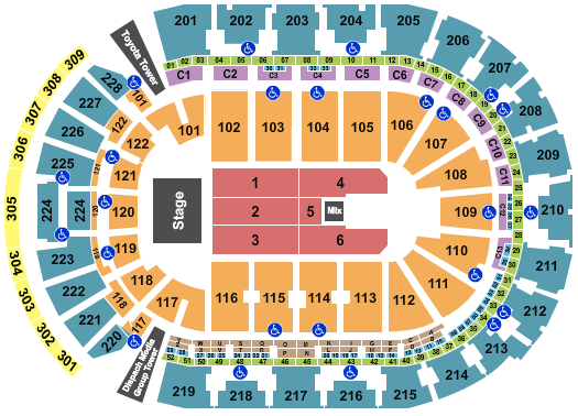 Trans-Siberian Orchestra Nationwide Arena Seating Chart