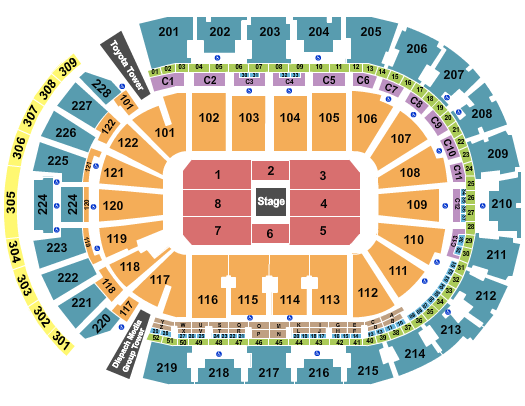 Nationwide Arena seating chart event tickets center