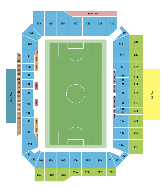 Lower.com Field seating chart event tickets center