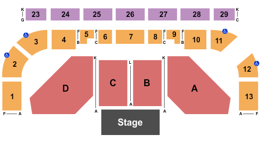 Northwest Arena Seating Chart