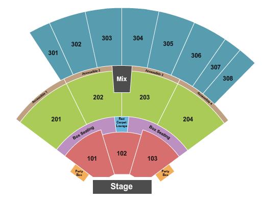 Oak Mountain Amphitheatre - AL seating chart event tickets center