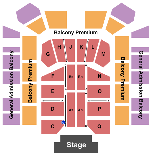 Ocean Grove Great Auditorium Seating Chart