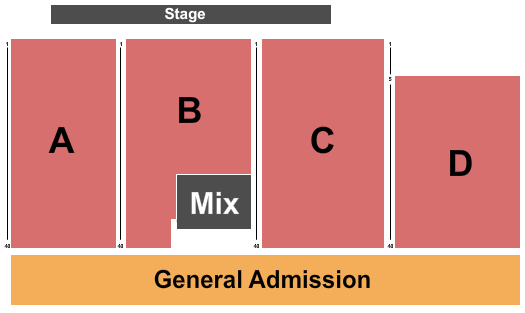 Old Concrete Street Amphitheater Seating Chart
