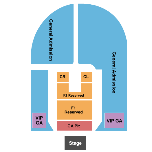 Outdoor Amphitheater At Ford Idaho Center  seating chart event tickets center