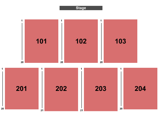 Outdoors at Holland Performing Arts Center seating chart event tickets center