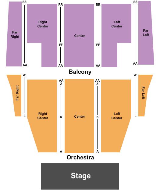Oxnard Performing Arts Center Floor Plan