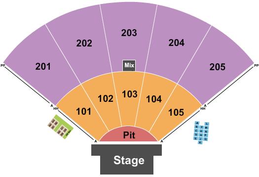 Ozarks Amphitheater - Missouri seating chart event tickets center