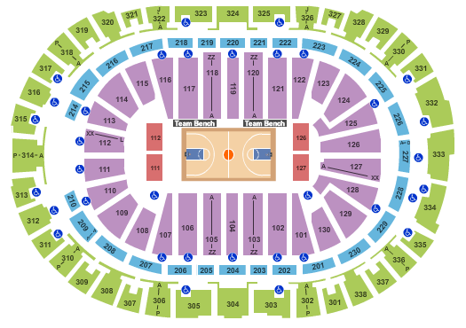 PNC Arena seating chart event tickets center
