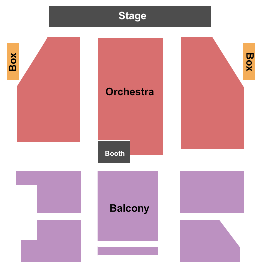 Palace Theatre - NH Seating Chart