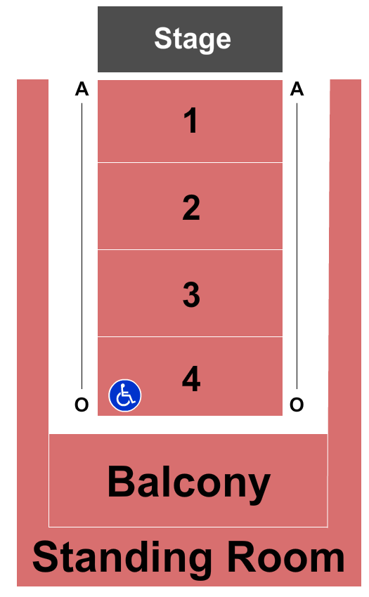 Paradise Theatre Seating Chart