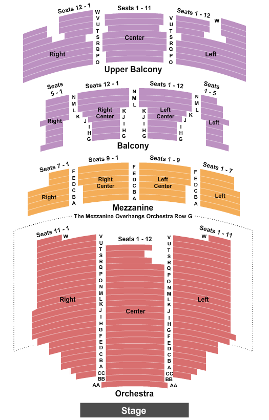Paramount Theatre - Austin, TX seating chart event tickets center