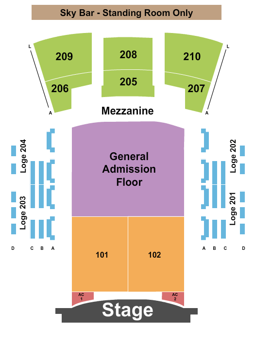 Paramount Theatre - Huntington seating chart event tickets center