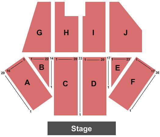 Paul Paul Theatre Floor Plan