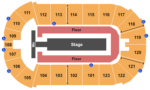 Payne Arena seating chart event tickets center