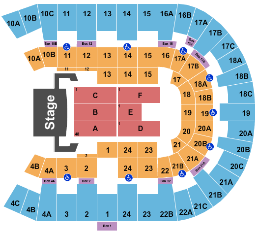 Pechanga Arena - San Diego Celine Dion seating chart - eventticketscenter.com