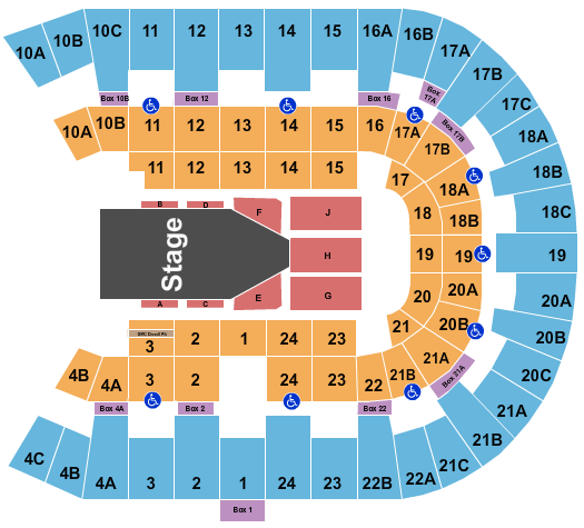 Pechanga Arena - San Diego seating chart event tickets center