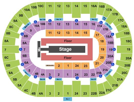 Pechanga Arena - San Diego seating chart event tickets center