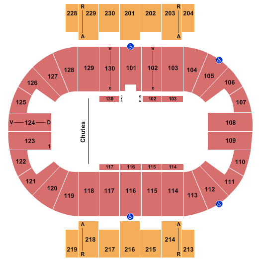 Pensacola Bay Center seating chart event tickets center