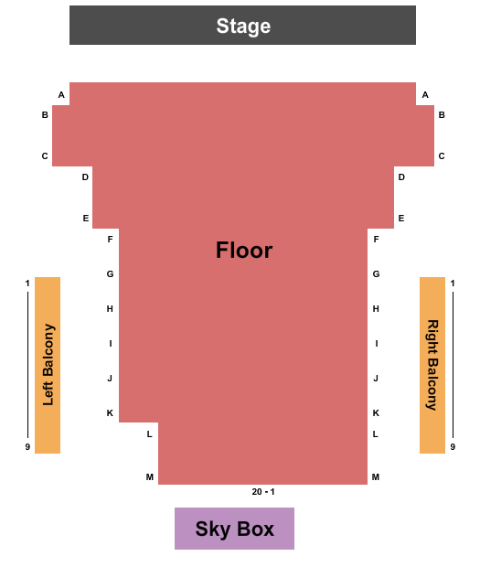 Pioneer Place On Fifth Seating Chart