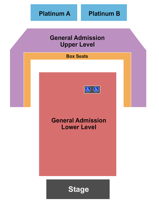 PromoWest Pavilion at OVATION seating chart event tickets center