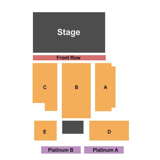 PromoWest Pavilion at OVATION Floor Plan