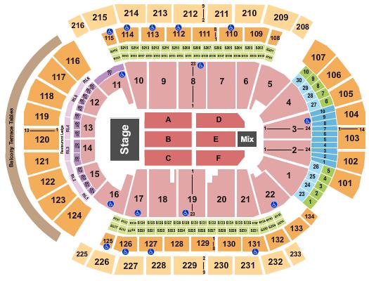 Prudential Center Janet Jackson seating chart - eventticketscenter.com